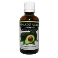 Avokado aliejus 10/30/50/100ml